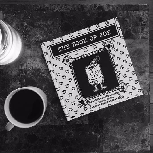 """First-time Hoboken author, Daniel Misdea, releases graphic novel, """"The Book of Joe,"""" on Dec. 10 through Koehler Books, based on his Bold Coarse Blend webcomic."""