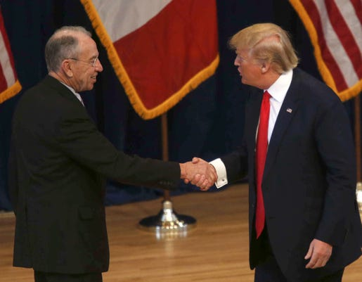 Grassley And Trump