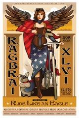 2018 RAGBRAI Poster