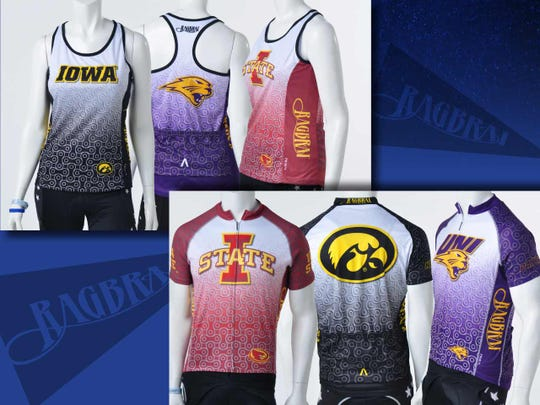 RAGBRAI College Jerseys