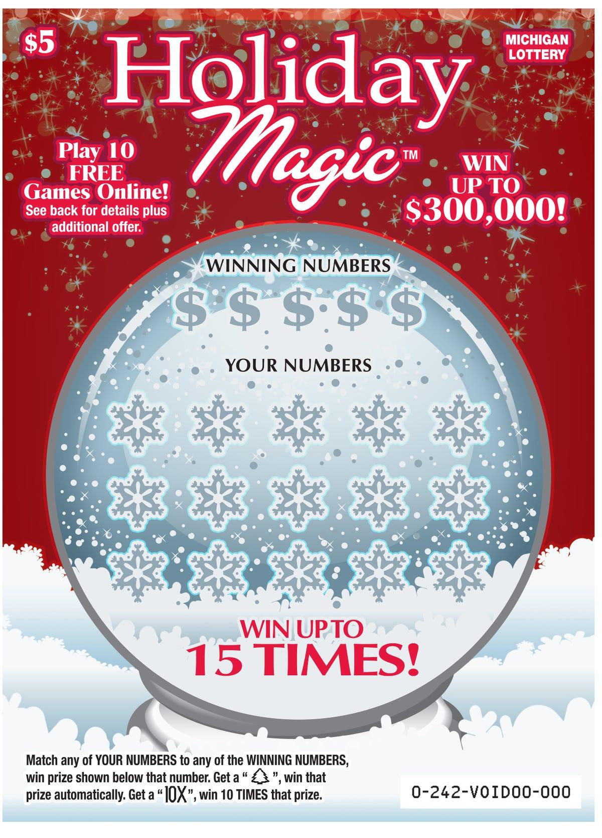 Farmington Hills lottery ticket wins $1 million