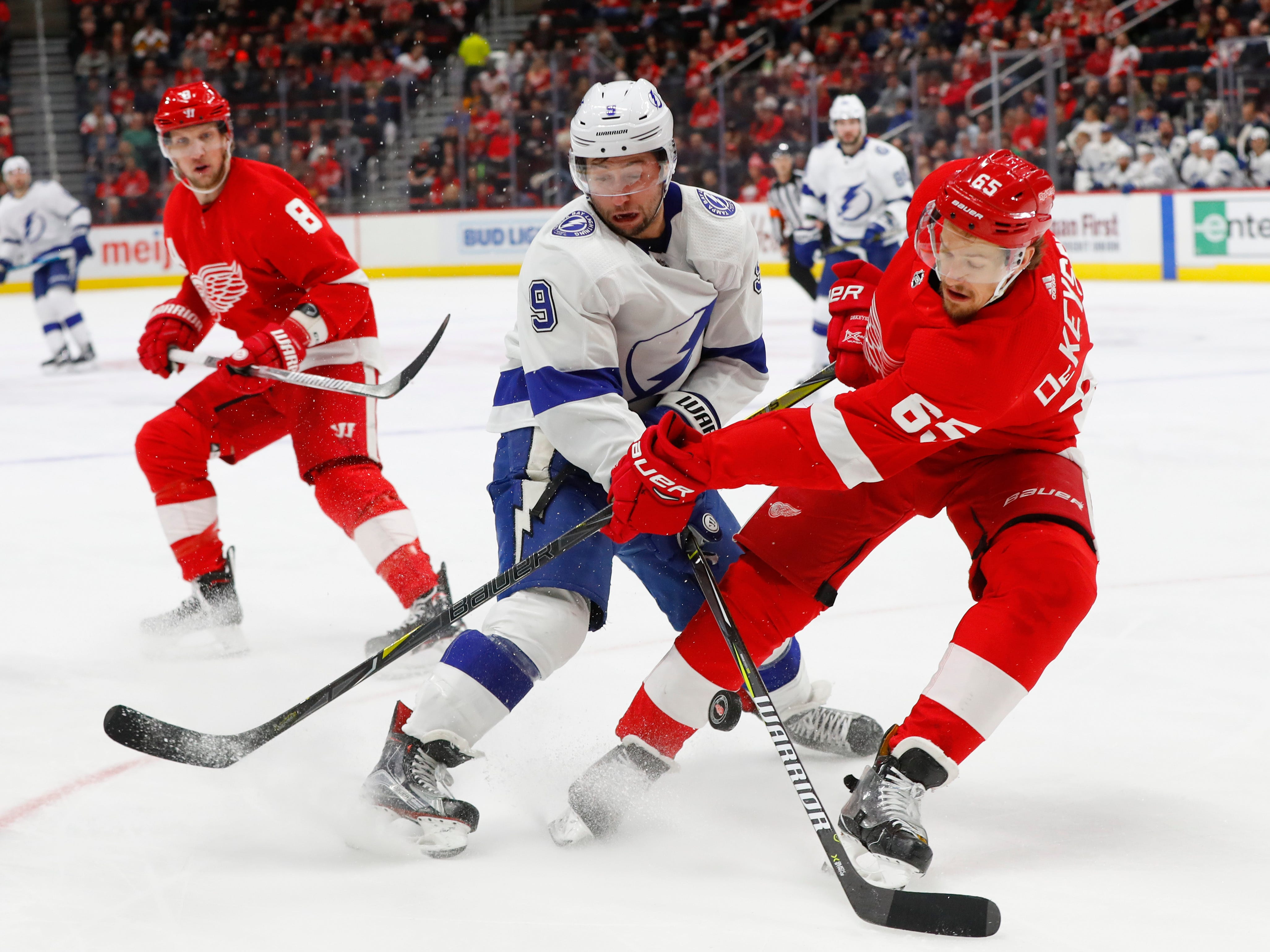 Detroit Red Wings lose another player for multiple weeks to injury