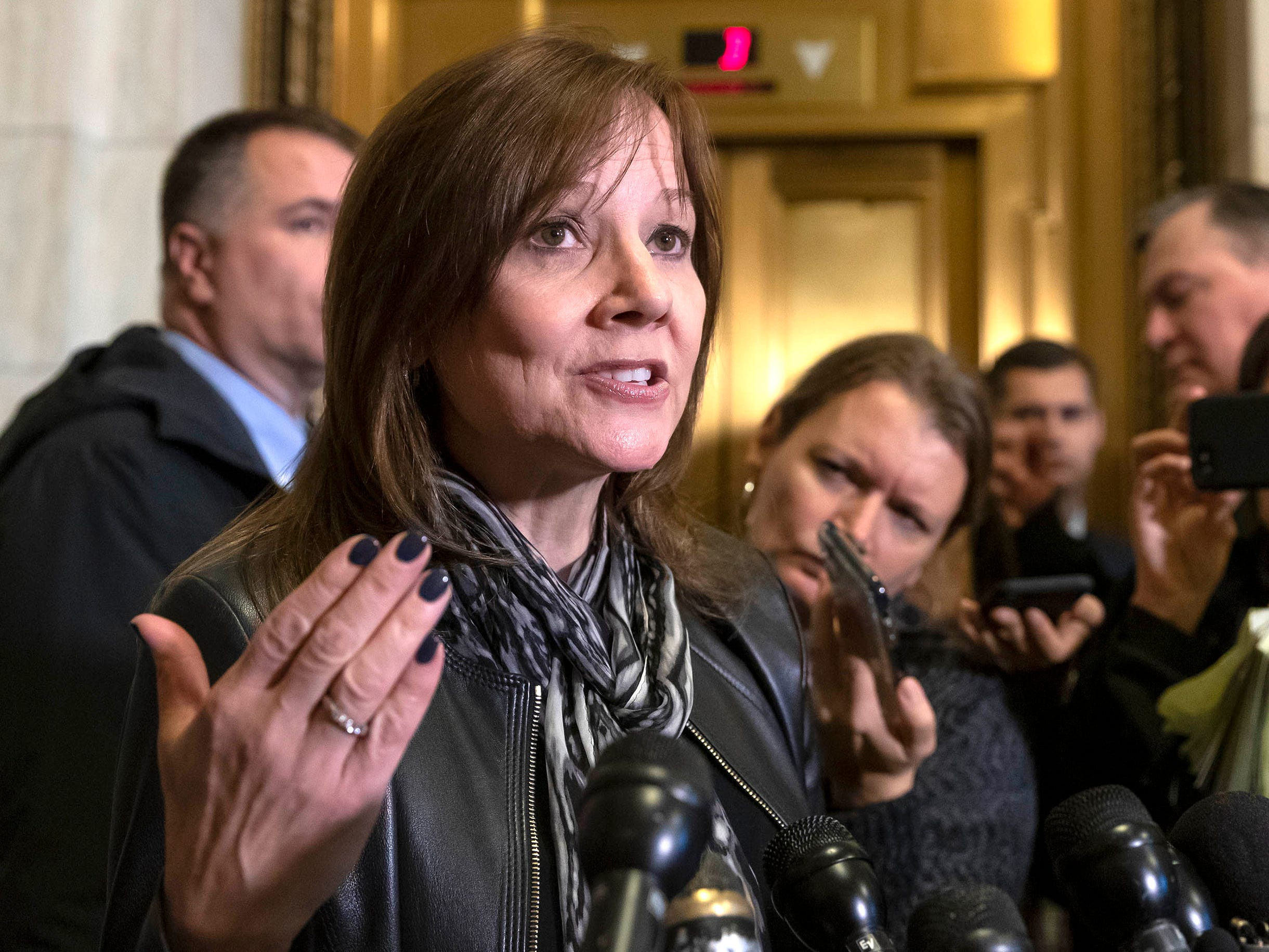 CEO Mary Barra tells members of Congress: GM must move forward