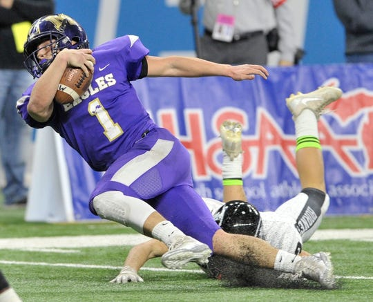 Madison Heights Madison's Austin Brown accounted for 55 touchdowns this season.