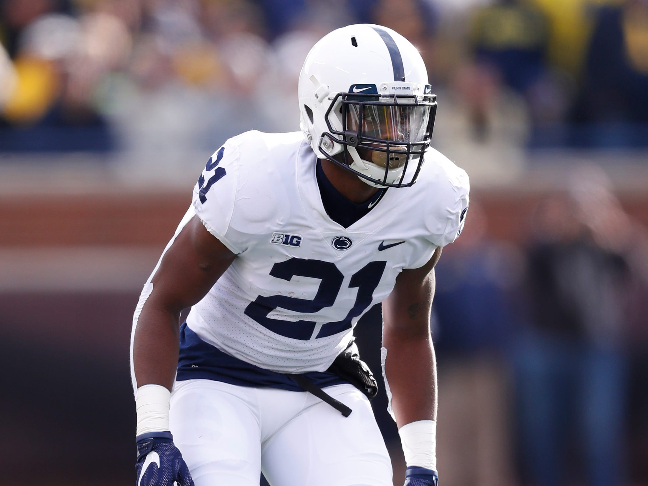25. Amani Oruwariye, CB, Penn State: As a Day 2 option, Oruwariye might be an ideal fit for the Lions. He's big, physical, comfortable playing in zone and has shown good ball skills, intercepting seven passes over the past two years.
