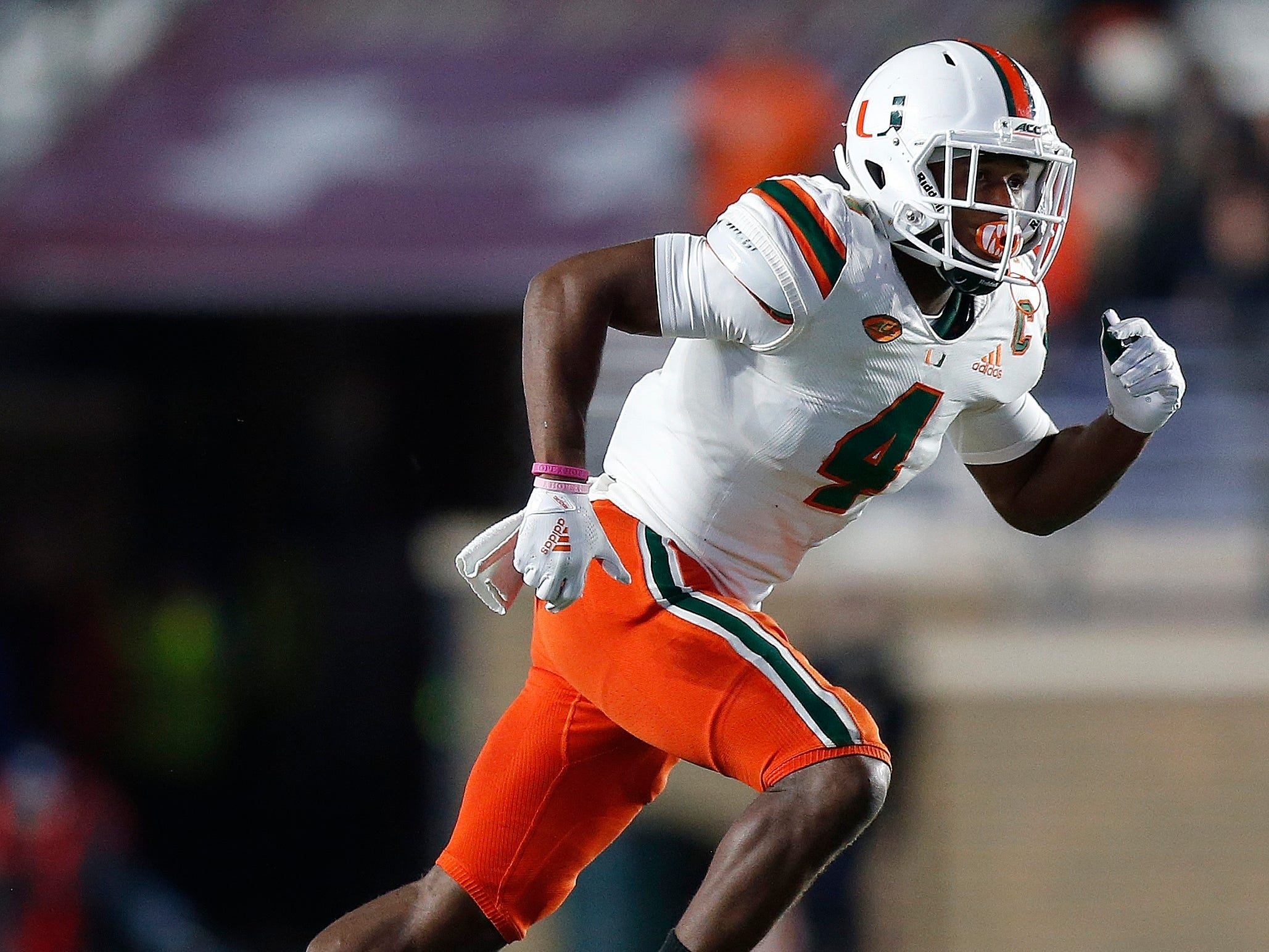 43. Jaquan Johnson, S, Miami (Fla.): In a lot of ways, adding Johnson would be like adding a second, more athletic, Quandre Diggs to the back end of the defense. Johnson processes plays quickly and hits hard. He's racked up big tackle numbers for the Hurricanes, while intercepting seven passes and forcing six fumbles during his four-year college career.