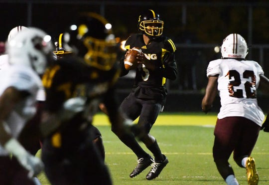 Detroit King quarterback Dequan Finn recently committed to Toledo.
