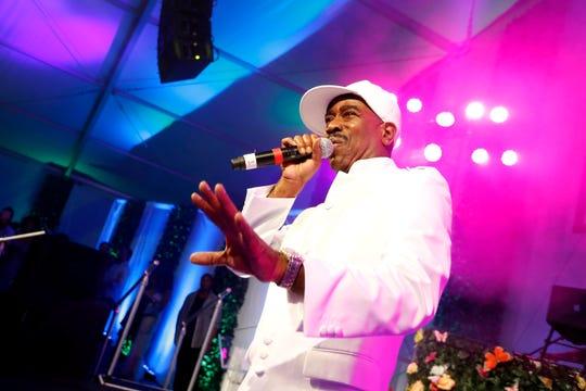 Legendary rapper Kurtis Blow, the first commercially successful hip-hop artist.
