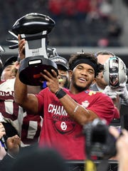 Kyler Murray and Oklahoma are champs in the division-less Big 12.