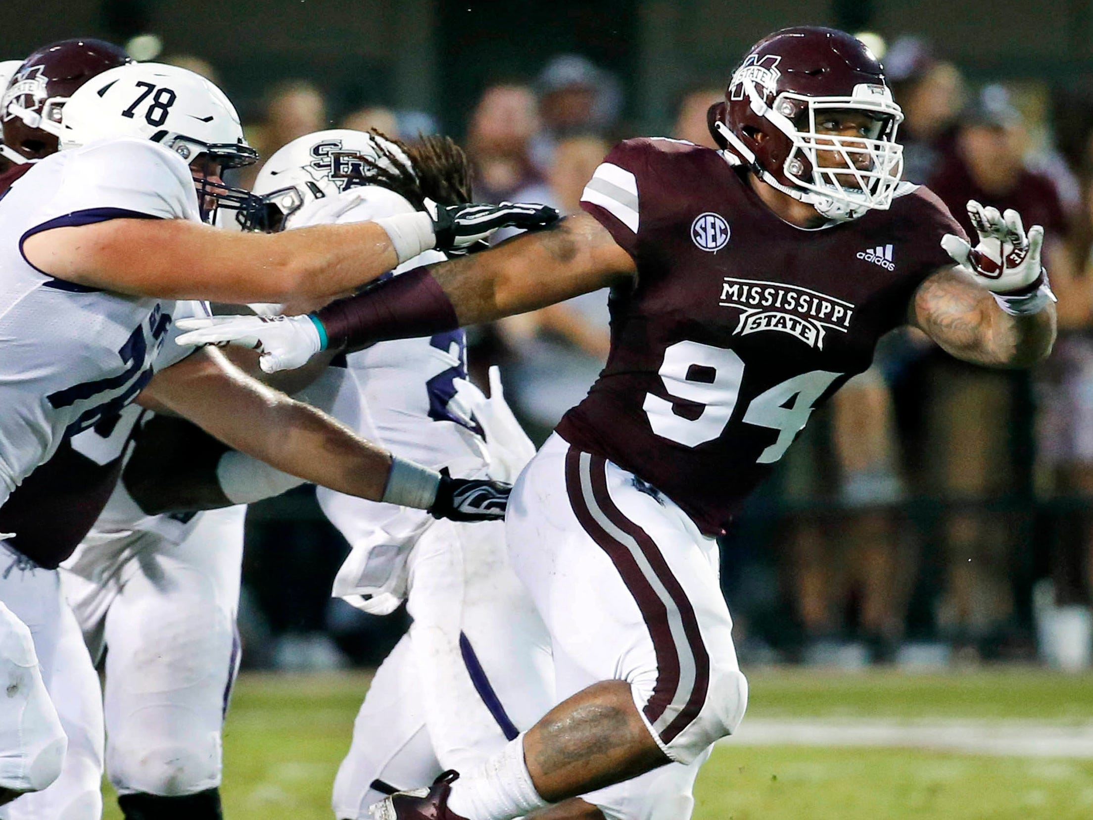 14. Jeffery Simmons, DT, Mississippi State: The Lions are in good shape at defensive tackle, but it never hurts to have more talented depth up front, plus A'Shawn Robinson only has a year left on his rookie deal. Simmons' athleticism is expected to turn heads at the combine, which would only enhance a body of work that included 15.5 tackles behind the line this season.