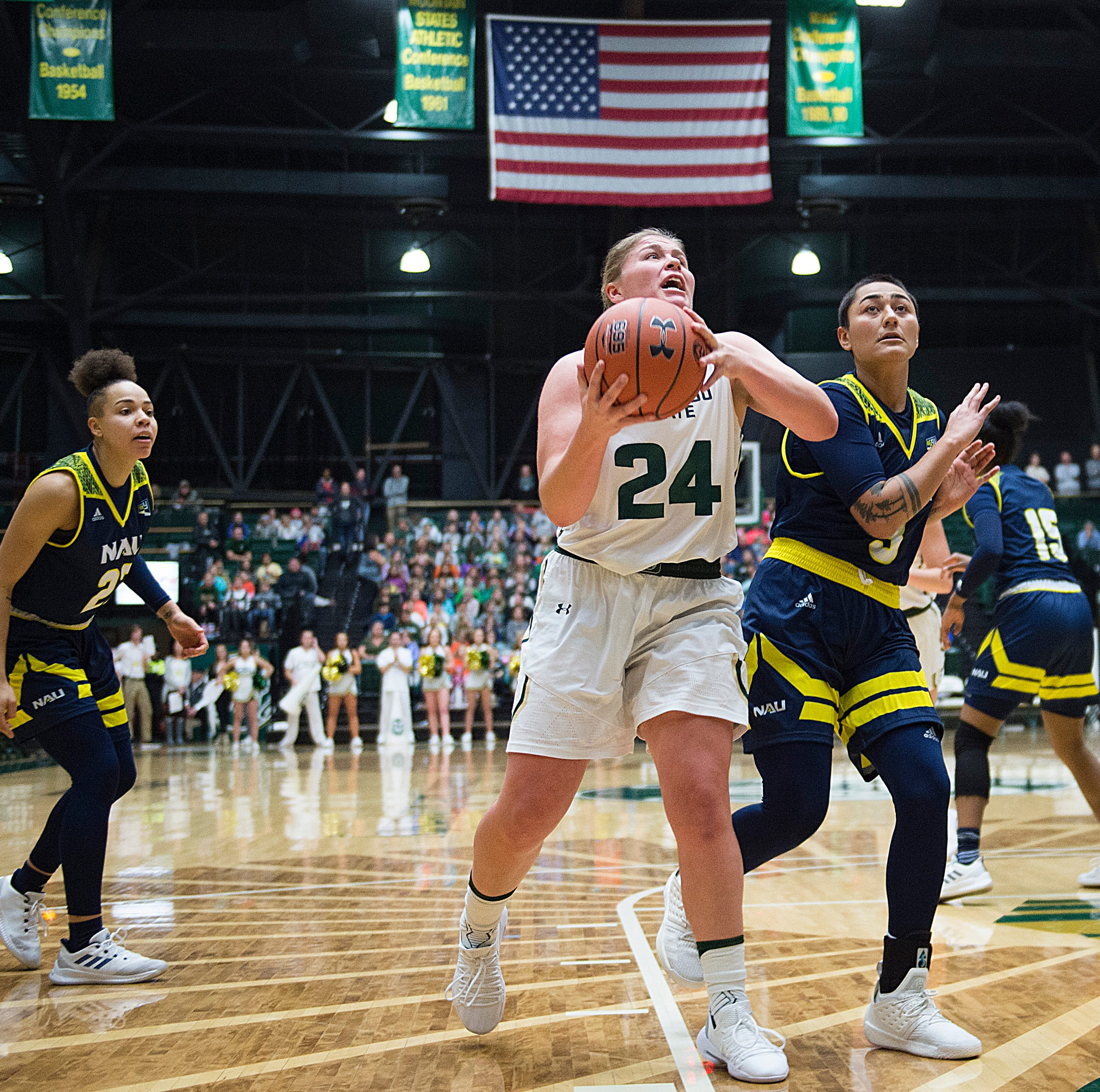 Colorado State University women's basketball team falls short at BYU