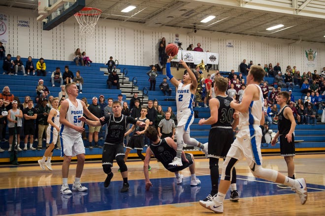 The Poudre boys basketball team hosts Mountain Range at 6:30 p.m. Friday.