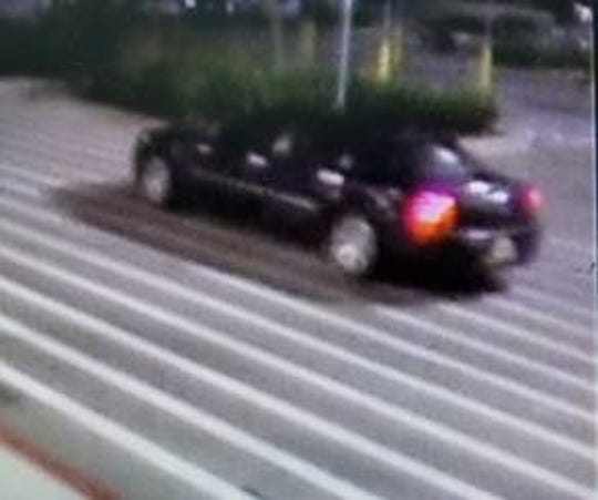 A car connected to a trio of suspects in early morning vehicle burglaries in an Estero gated community was caught on camera at the Walmart in Estero after the suspects allegedly tried to use a bank card later found to have been stolen from a vehicle in the community.