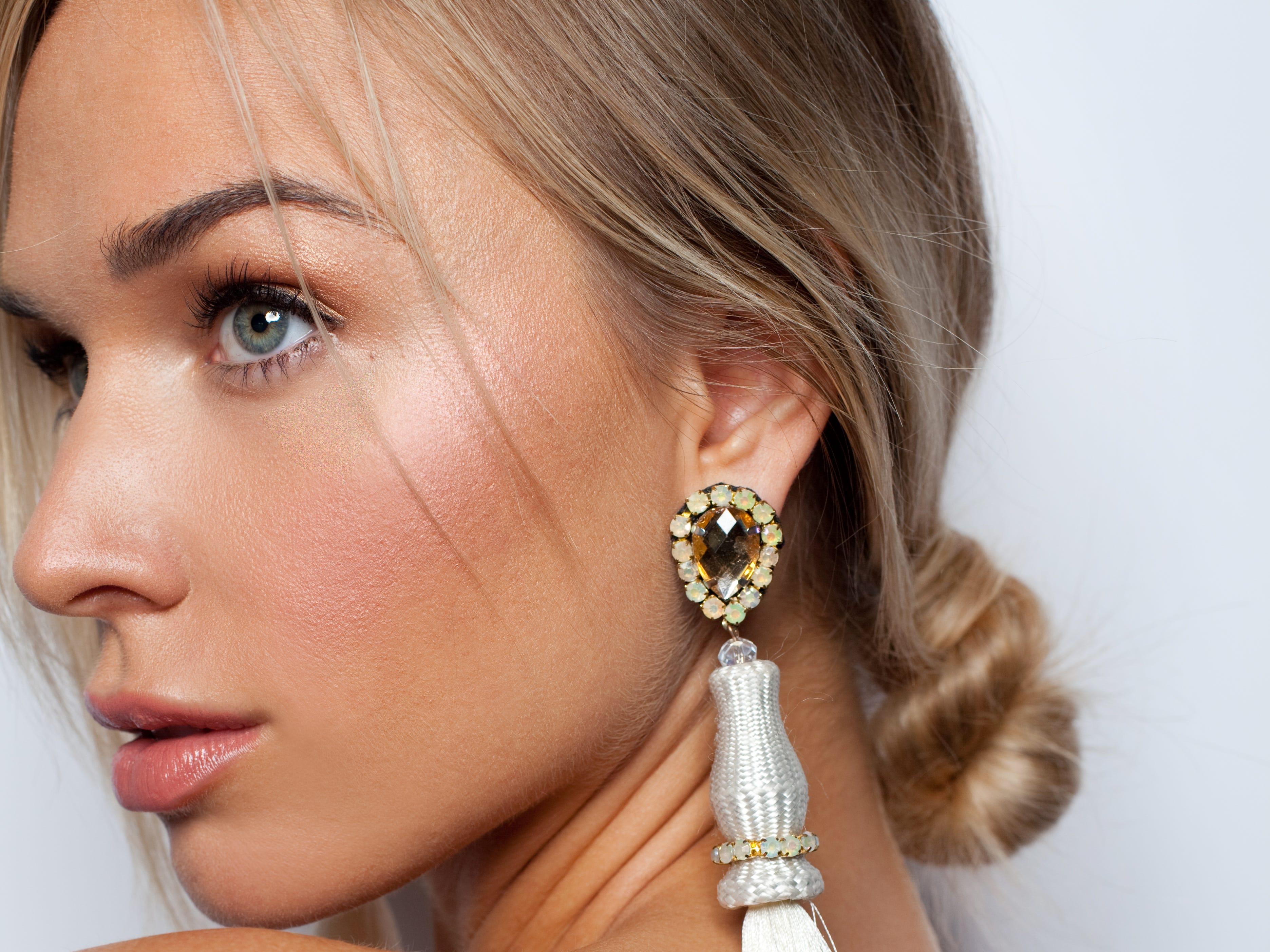 Tassel Earrings: Treasure Jewels, Cocobella