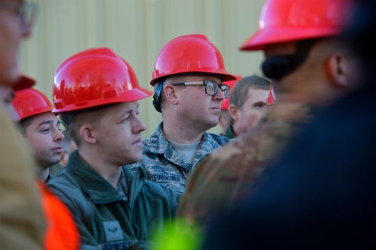 A group of civilian and military engineers learned about the city's new ultra violet water treatment system during a tour of the water plant last month. The plant, which was constructed more than a 100 years ago, features a combination of new and old technology to purify the city's water, which comes from the Missouri River.