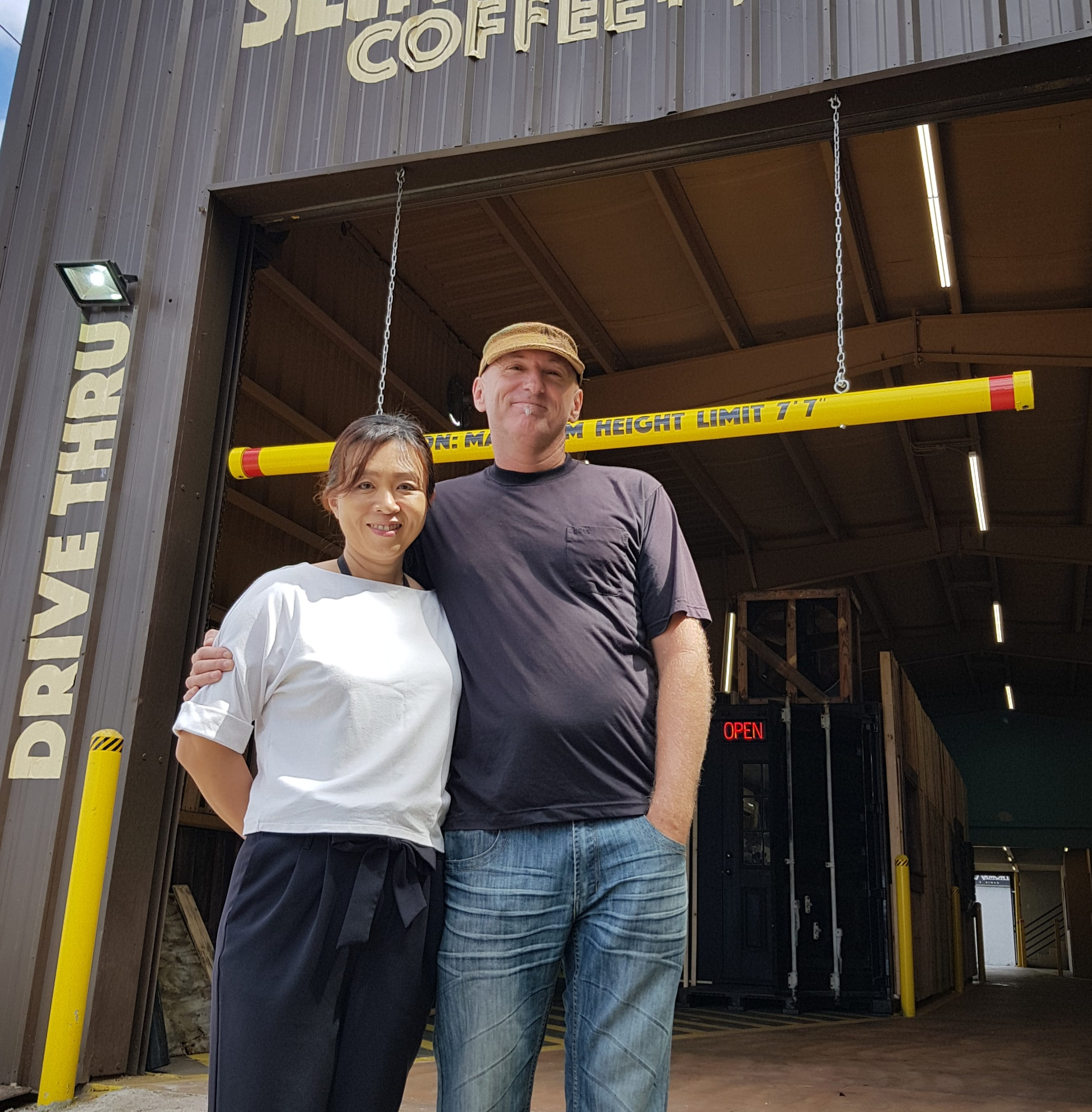 Sling Stone Coffee drive-thru opens second location in East Agana