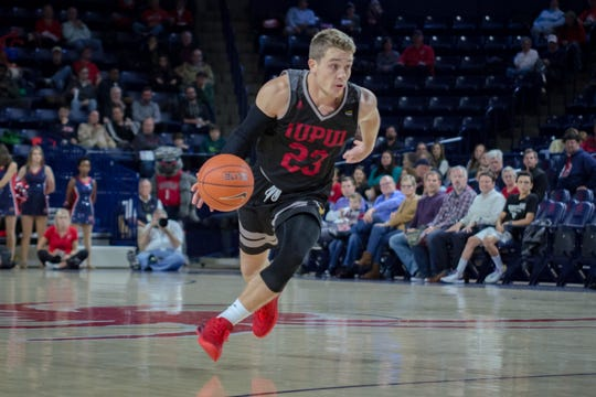 FILE -- Grant Weatherford of IUPUI