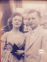 """Curtis and Hilda Willis were married 63 years.  Says their daughter, Kathy Rinks, """"they would do anything for anybody."""""""