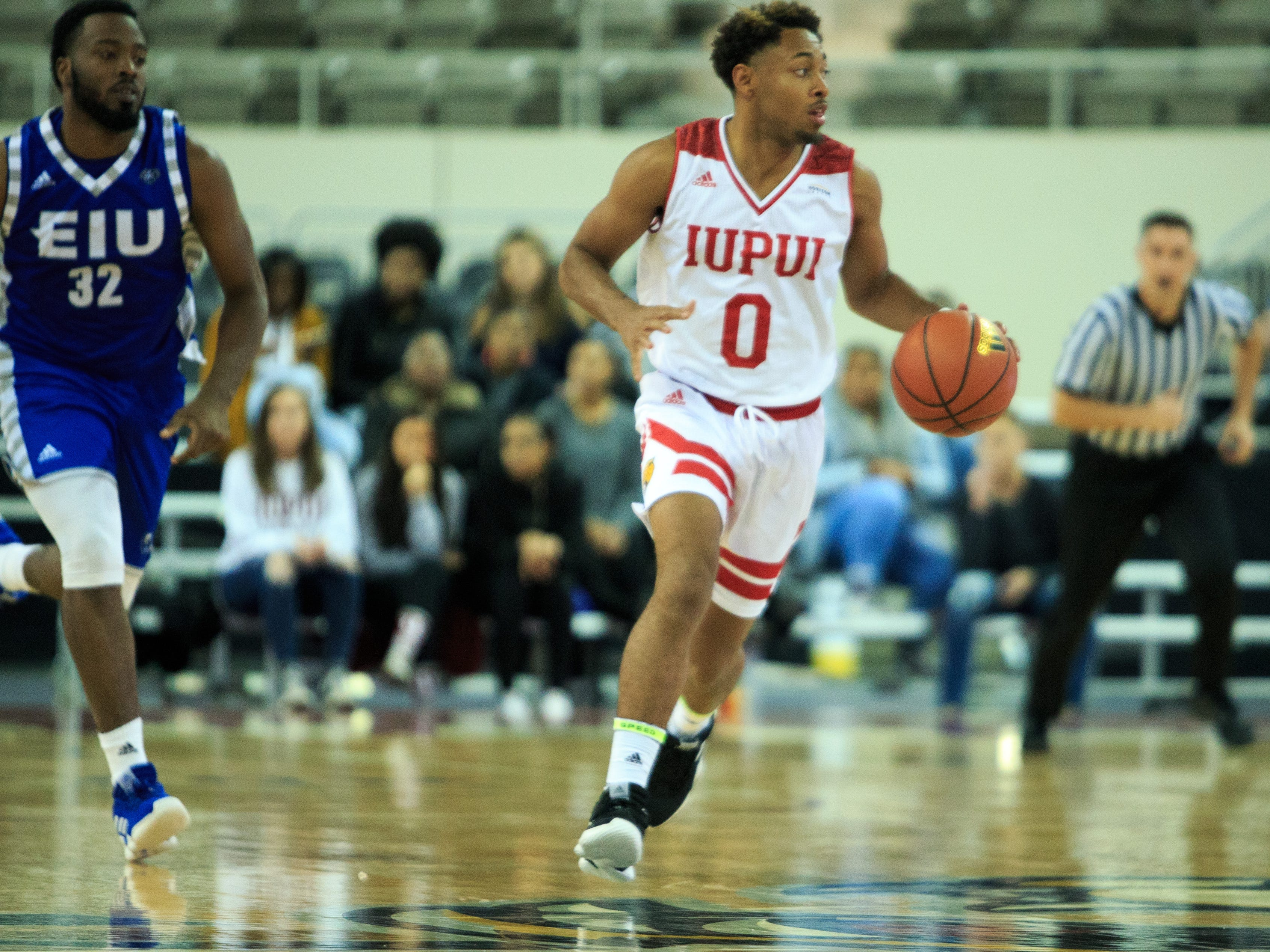 IUPUI guard Jalen Minnett.