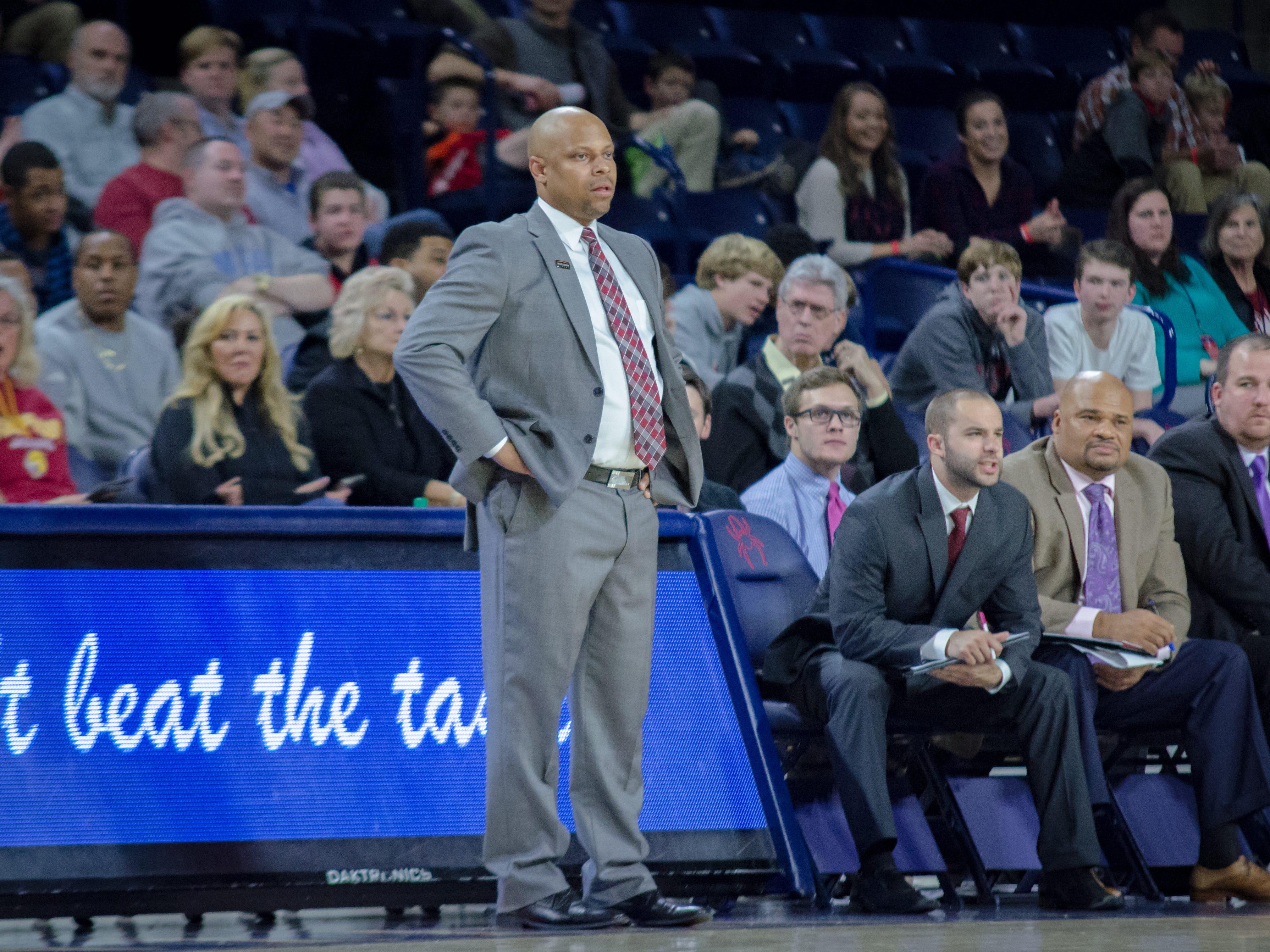 IUPUI coach Jason Gardner.