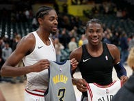 New Pacer Justin Holiday says winning culture drew him to Indiana