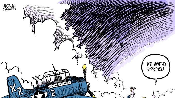Marshall Ramsey Cartoonist The Life Of George H W Bush