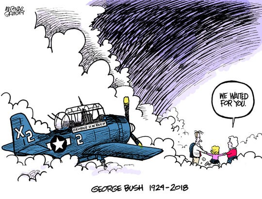 Service & Family: The life of George H.W. Bush