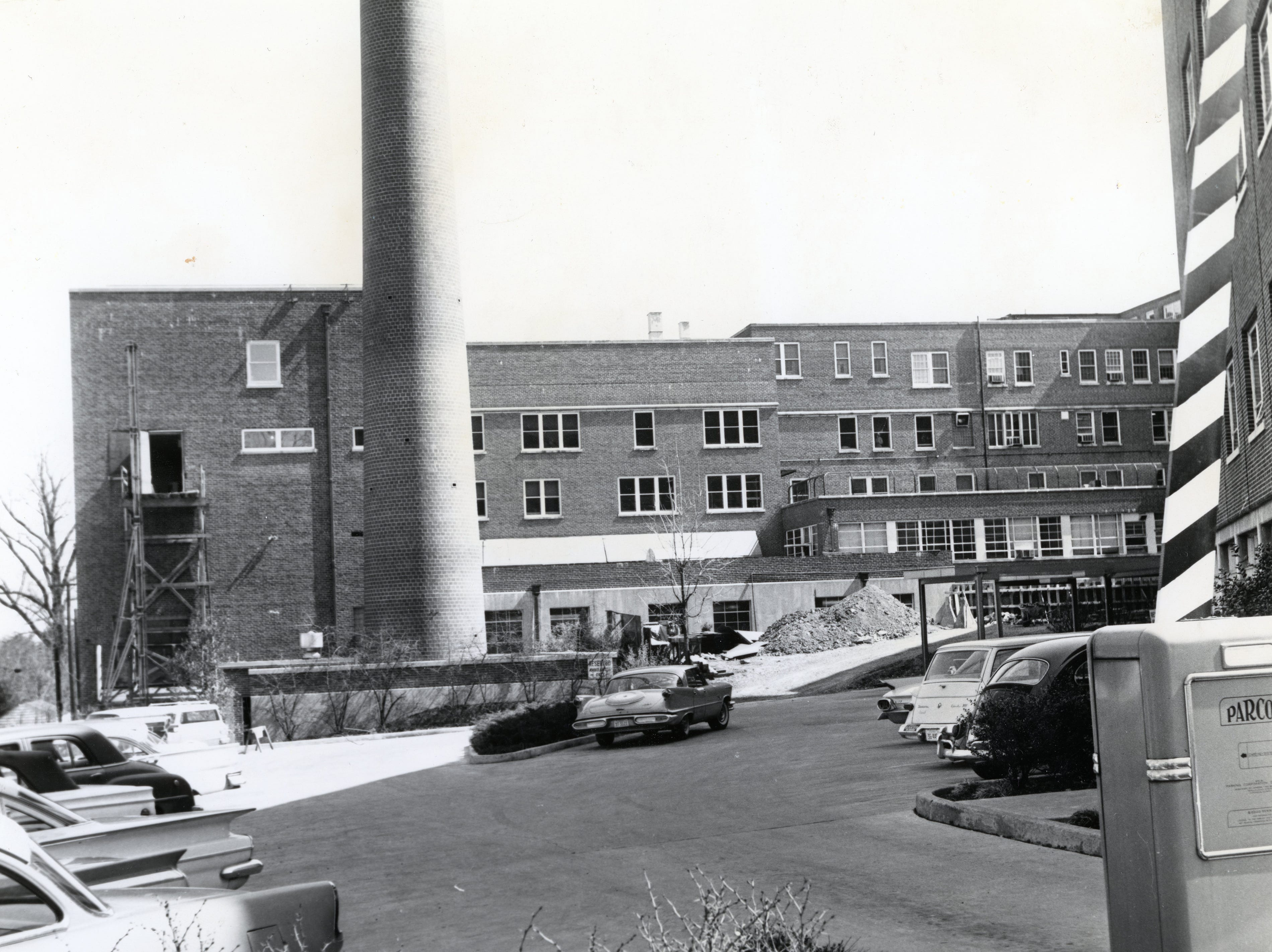 St. Mary's Hospital in April 1963.