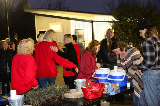 """I was happy to see that in such a short amount of time, with little to no advertisement, we were able to bring the community from little kids to the older generations to the tree lighting,"" said Halls Crossroads Women's League president Susan Smith."