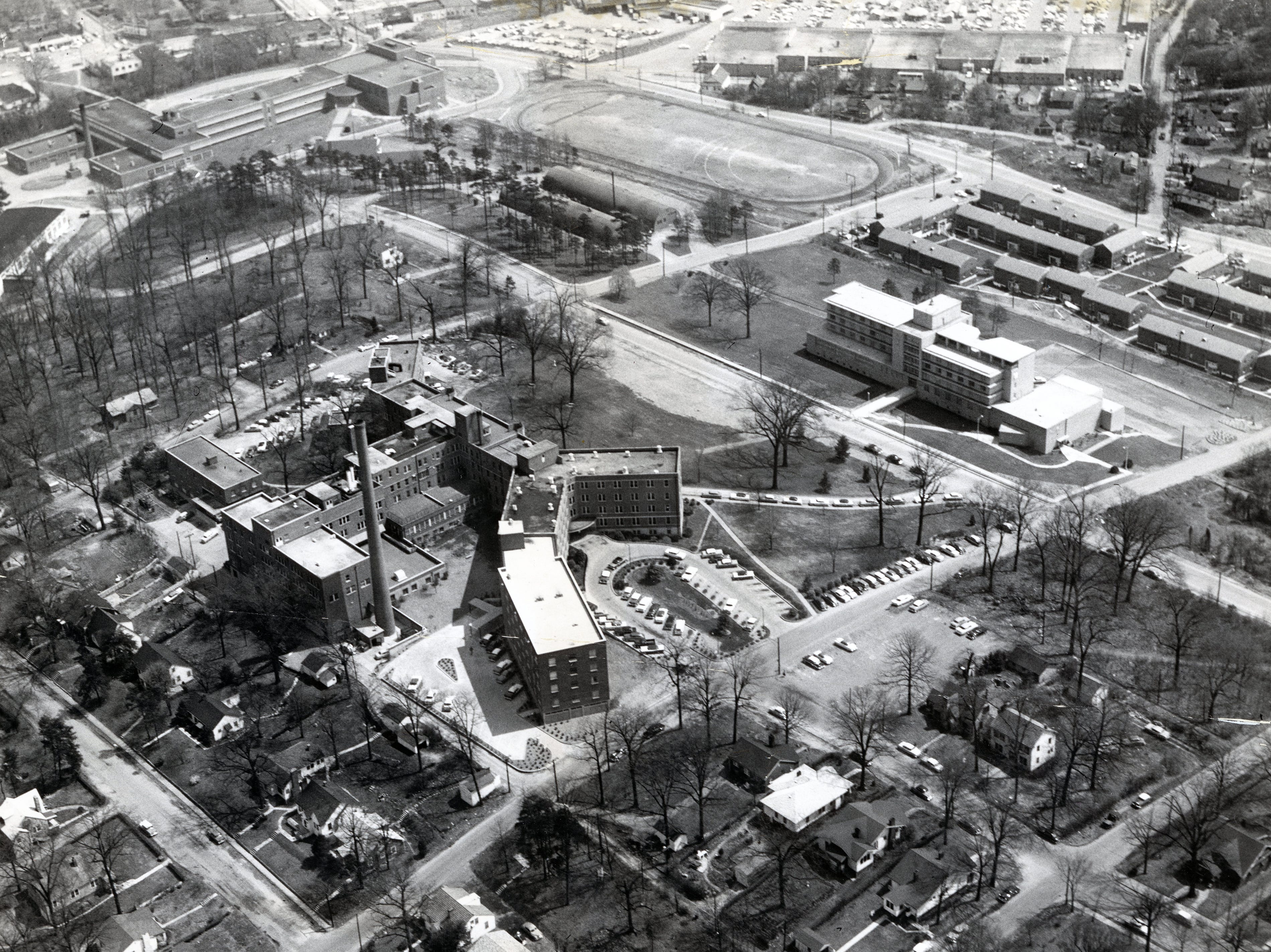 St. Mary's Hospital in April 1958.