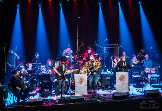 "Frank Muffin and a 22-piece orchestra performed the Beatles classic ""Sgt. Pepper's Lonely Heart's Club Band,"" cover to cover, during a benefit show at Lafayette Theater in December 2017."