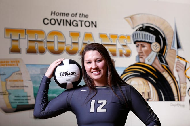 Corrissa Remter of Covington High School is the 2018 Journal & Courier Small School Volleyball Player of the Year.