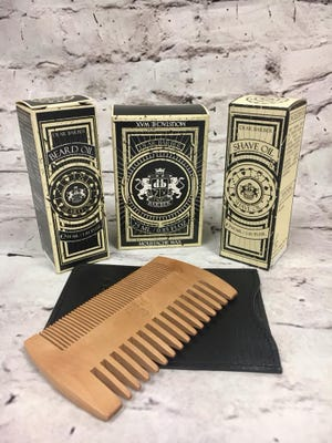 Beard care set from Farmers Drugs and Gifts