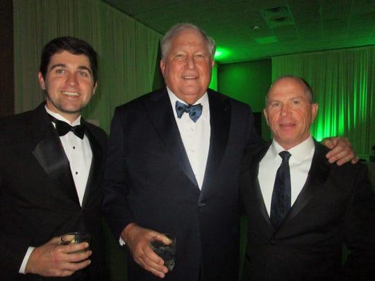 Ben Simms, William Fenstermaker and Lenny Lemoine