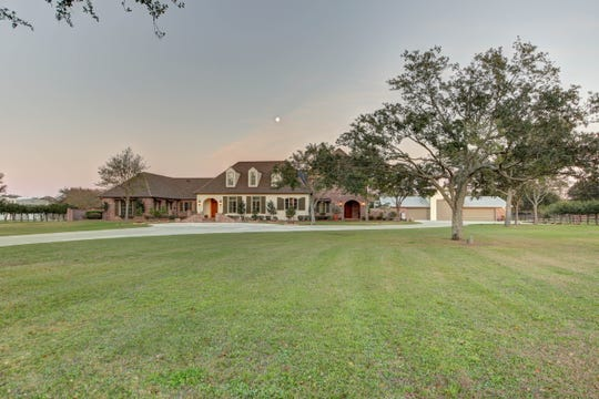 This 5 bedroom, 6 1/2 bath home is located at 1701 Bonin Road in Youngsville. It is listed at $4,025,000.