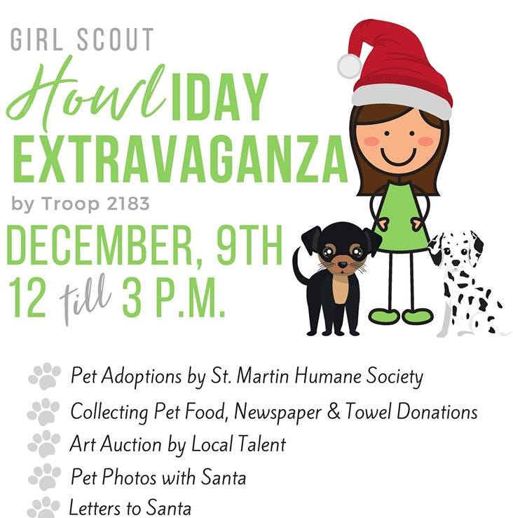 Girl Scout event to benefit local animal shelters