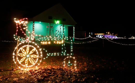 The Festival of Lights at the Fairfield County Fairgrounds is in it's second year of operation. Millions of lights are featured as part of the drive through experience.