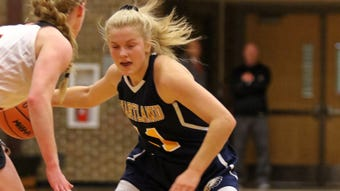 Highlights and interviews from Hartland's 61-37 girls basketball victory at Fenton.