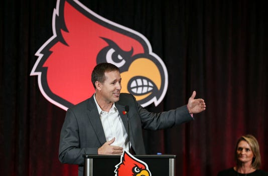 Scott Satterfield Introduced As Louisville Football Coach