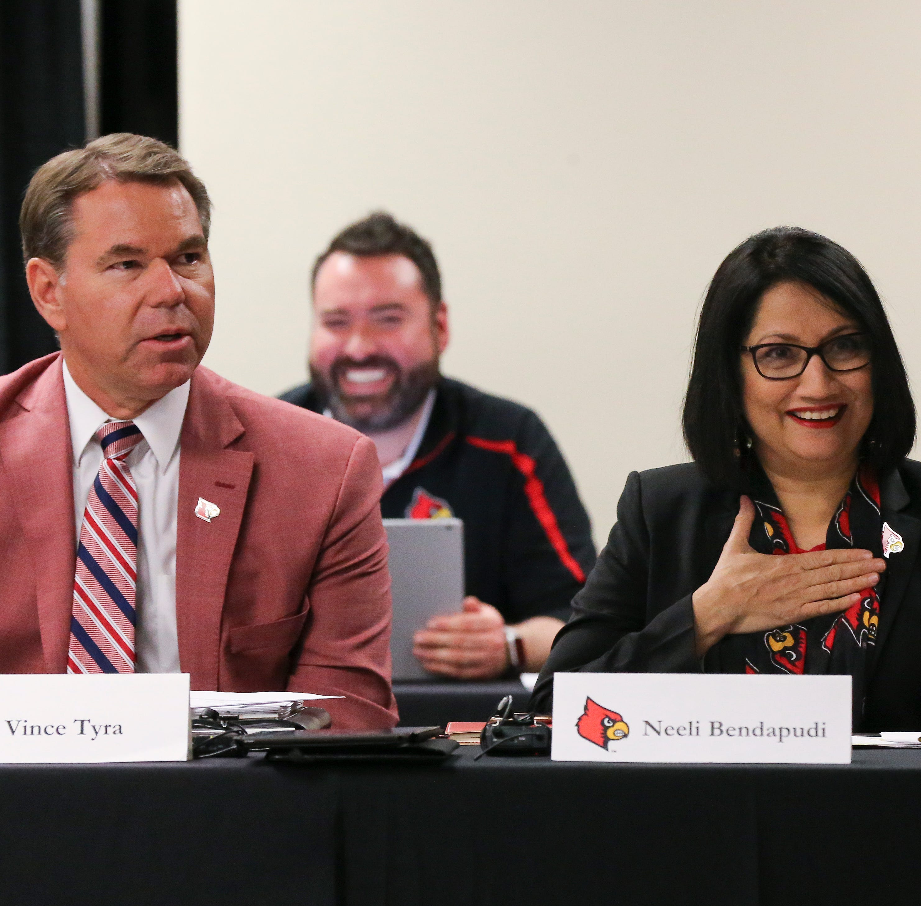 Louisville president floats plan to shift power from ULAA to smaller committee