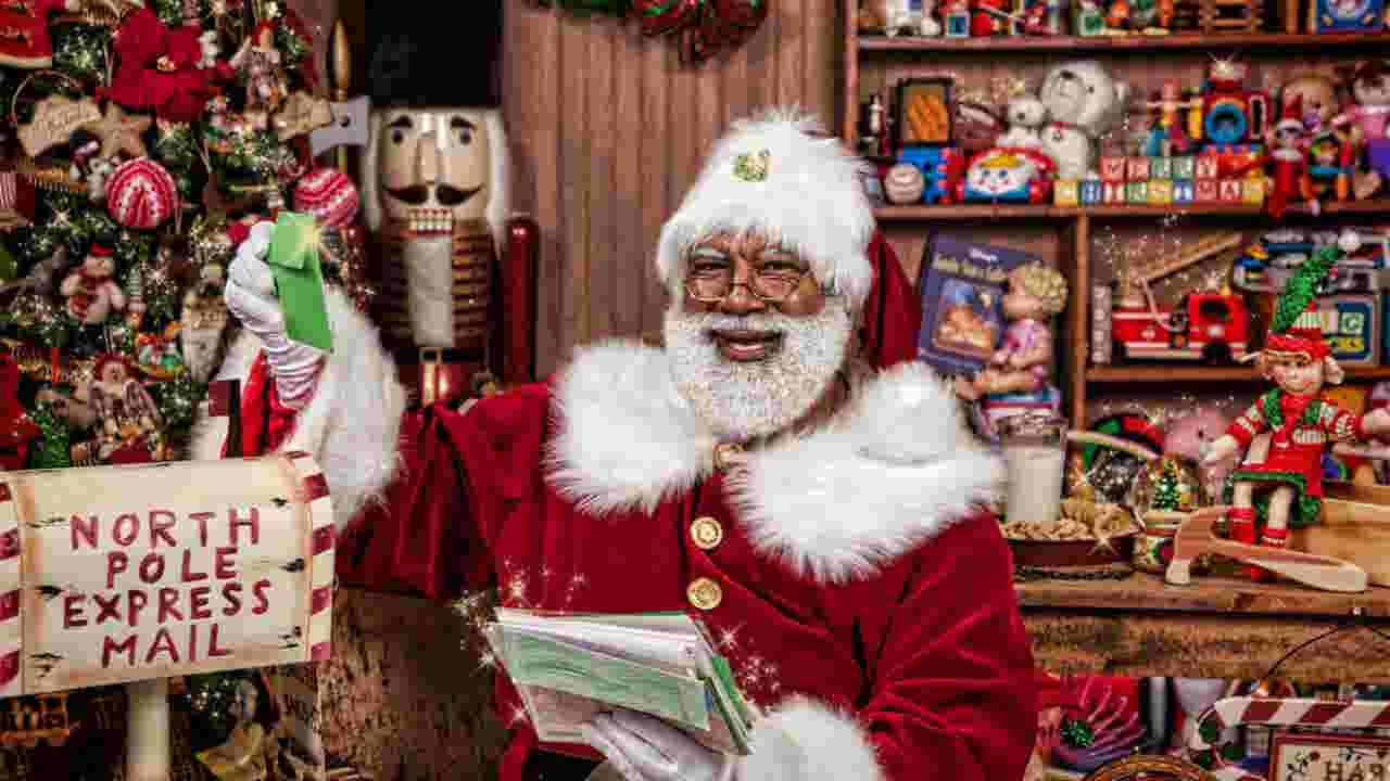 Black Santa event aims to promote holiday diversity, open-mindedness