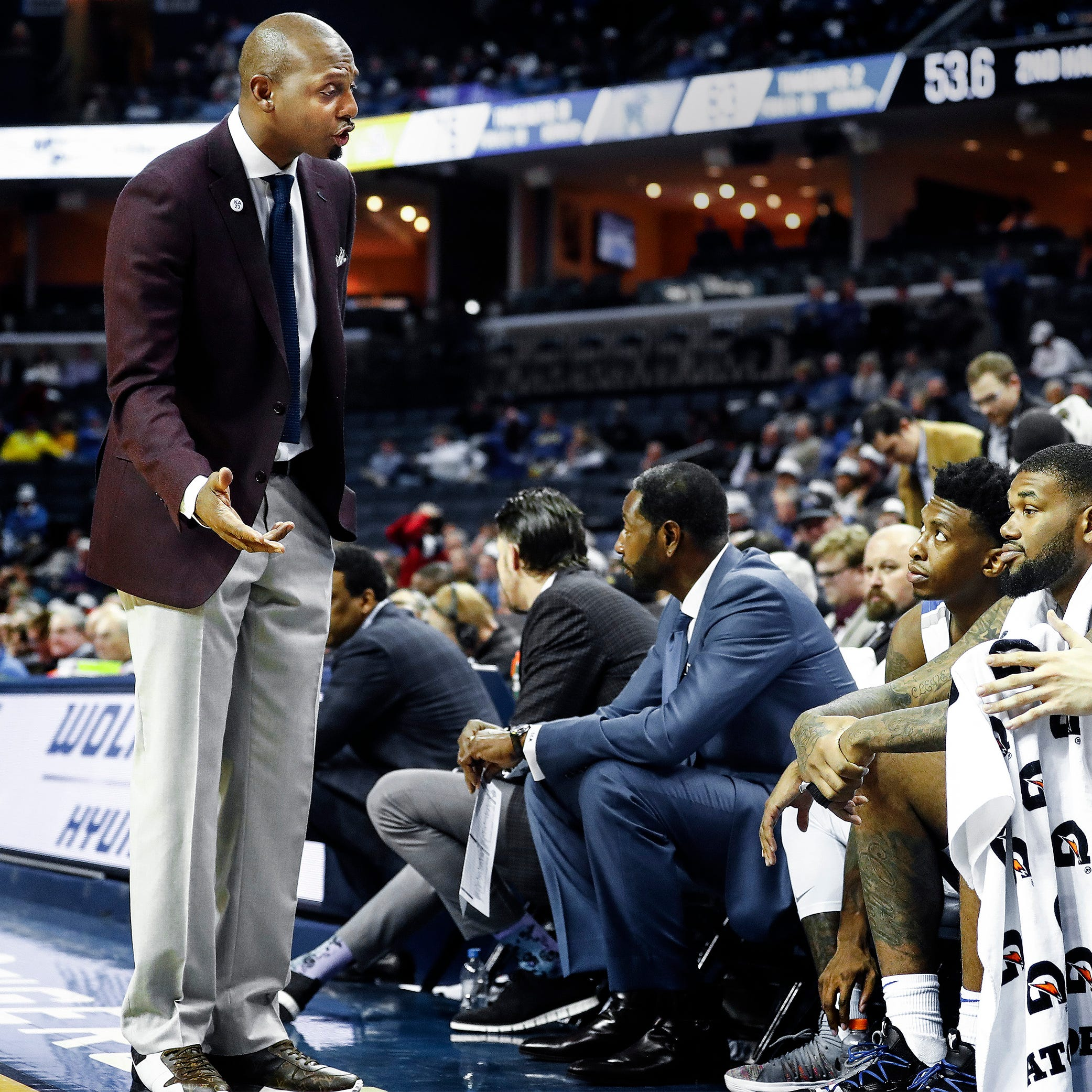 Memphis basketball game vs No. 4 UT Vols is 'problem' Penny Hardaway, Tigers welcome