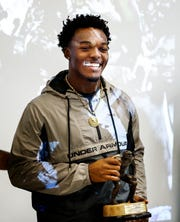 Nakobe Dean, the one of the top rated high school linebacker prospects in the country and Mississippi's 6A Mr. Football winner, was announced as a The Butkus Award winner at Horn Lake High School, Wednesday afternoon.