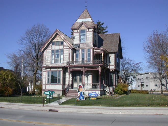 The historic Timm House in New Holstein is the site of the Timm House Christmas Dec. 14-16. The house was once the home of early city leader H.C. Timm and his family.  It was built in two parts beginning in 1873.