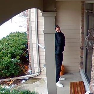 A person of interest is being sought in a series of burglaries in Sussex and Lisbon