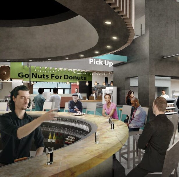 Food hall with places to play and an anchor business tenant making Milwaukee's Grand Avenue mall a destination
