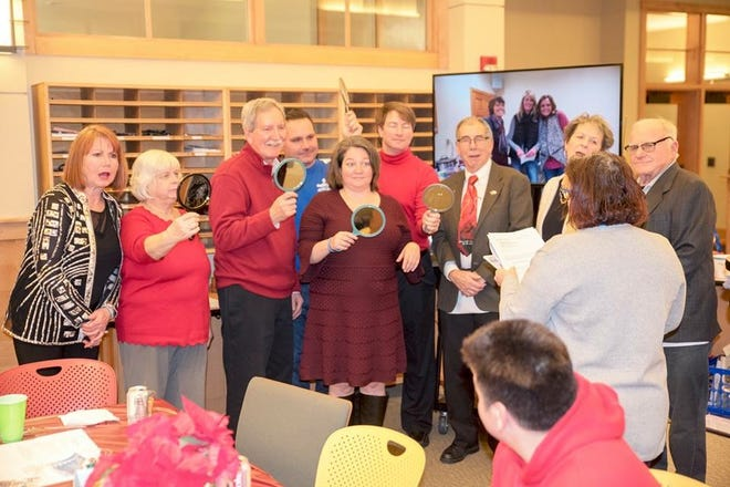 Members of the Sussex-Lannon-Lisbon-Butler Optimist Club will once again tour Sussex this year spreading cheer with caroling.