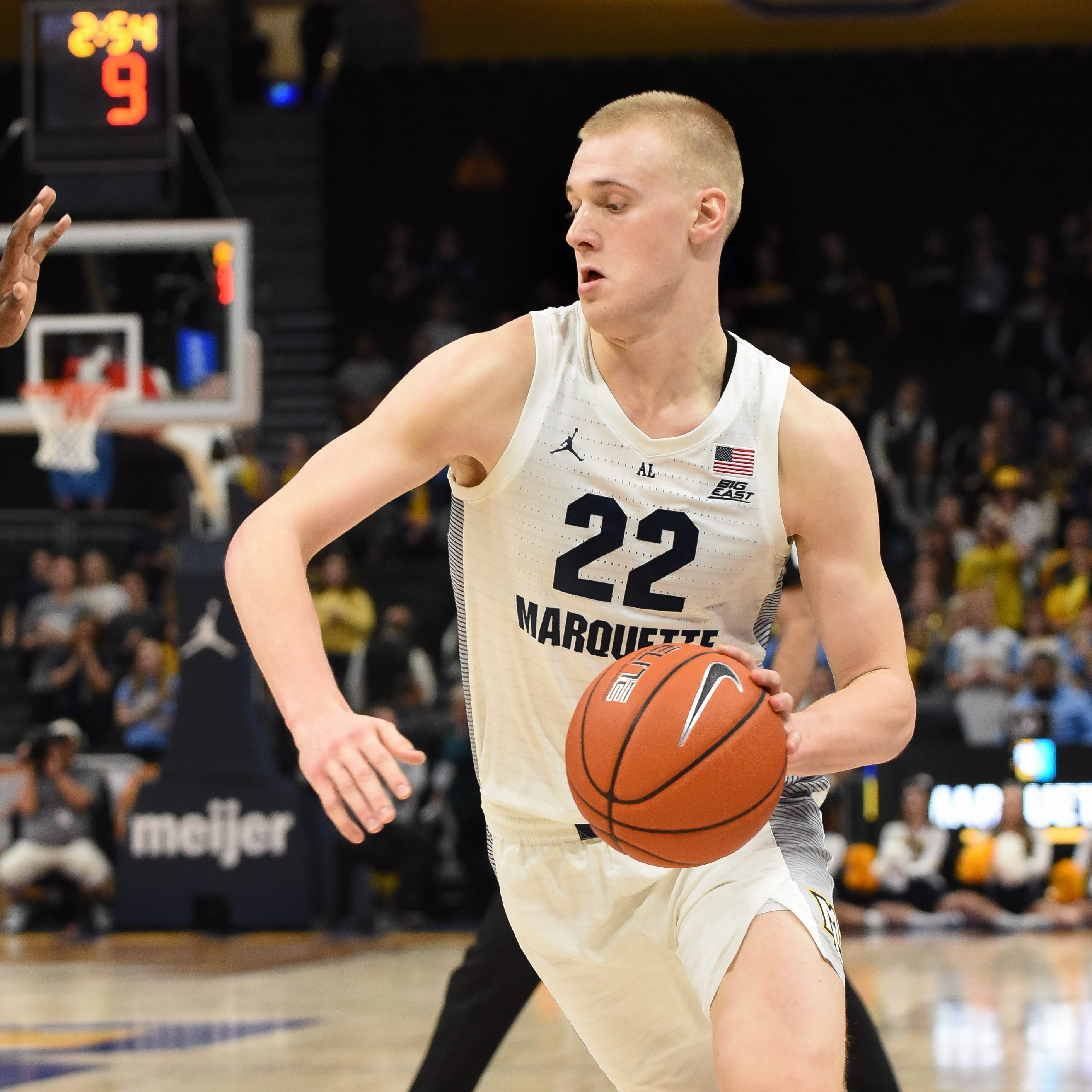Marquette's Joey Hauser is not playing like a freshman