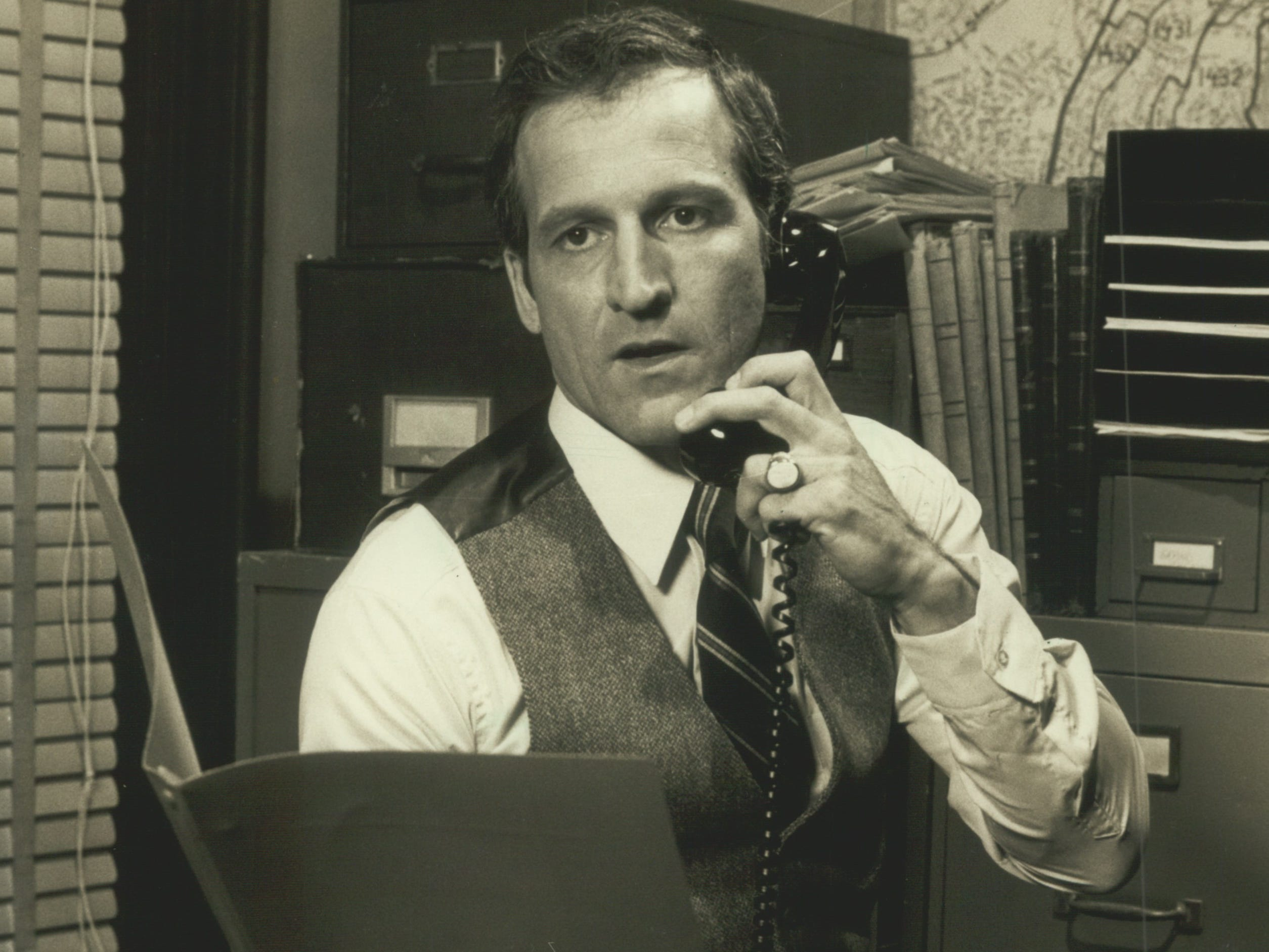 "Kenosha native Daniel J. Travanti took home a Golden Globe for best actor in a TV drama series in 1982 as Captain Furillo on ""Hill Street Blues."""