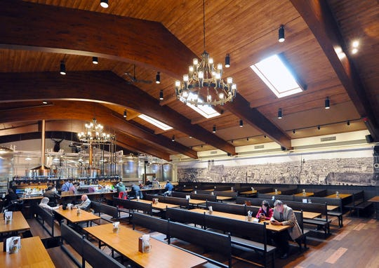 The Bavarian Bierhaus brewpub, in Glendale, includes a beer hall with space for over 300 guests. A developer is dropping plans to bring a Bavarian Bierhaus to Menomonee Falls after the Village Board rejected a proposed loan to help finance the project.
